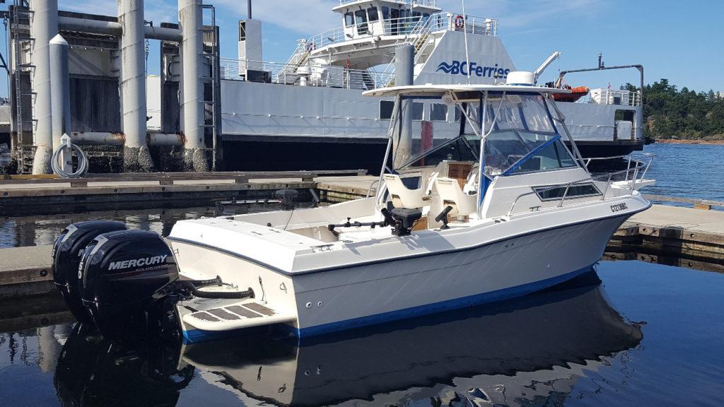 biggar fish-charters tofino grady white