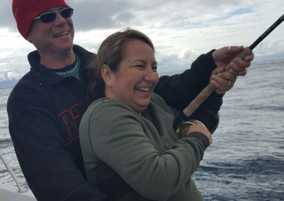 salmon fishing off tofino with biggar fish charters